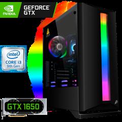 игровой компьютер на GTX 1650 4 ГБ и Intel Core i3-9100F