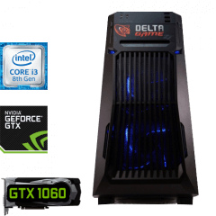 игровой компьютер на GTX 1060 и Intel Core i3-8100