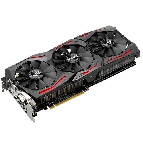 ASUS GeForce® GTX 1070 8Gb STRIX GAMING