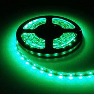 Зеленая светодиодная подсветка