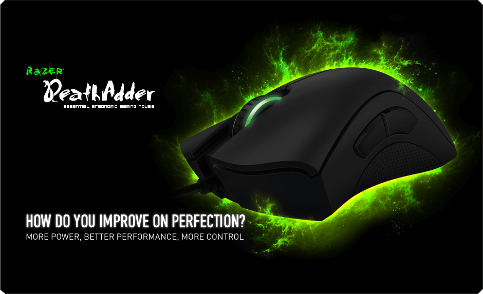Обзор игровой мыши Razer DeathAdder Essential!