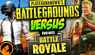 - fortnite vs battlegrounds
