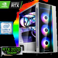 игровой компьютер на RTX 2070 SUPER и Intel Core i5-9600KF