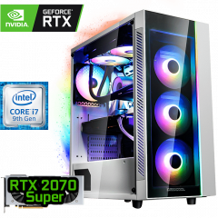 игровой компьютер на RTX 2070 SUPER и Intel Core i7-9700F