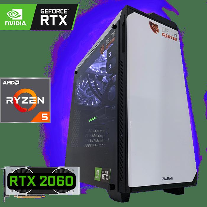 игровой компьютер на RTX 2060 и AMD Ryzen 5 3500X