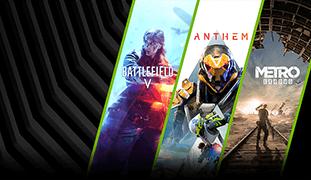 Battlefield V и/или Anthem и/или Metro Exodus в подарок