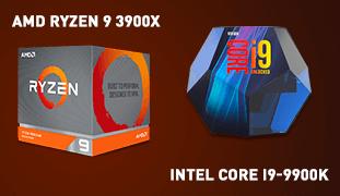 AMD Ryzen 9 3900X и Intel Core i9-9900K