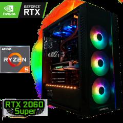 игровой компьютер на RTX 2060 Super и AMD Ryzen 5 3600