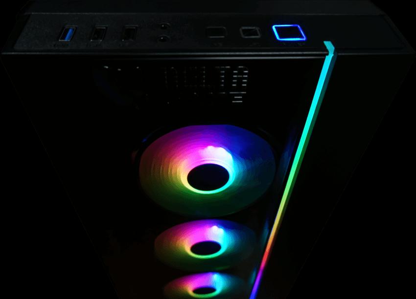 игровой компьютер на RTX 2060 Super и AMD Ryzen 5 3600X