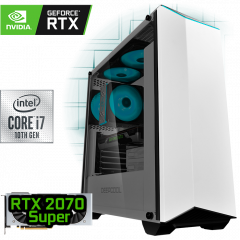 игровой компьютер на GeForce RTX 2070 Super и Intel Core i7