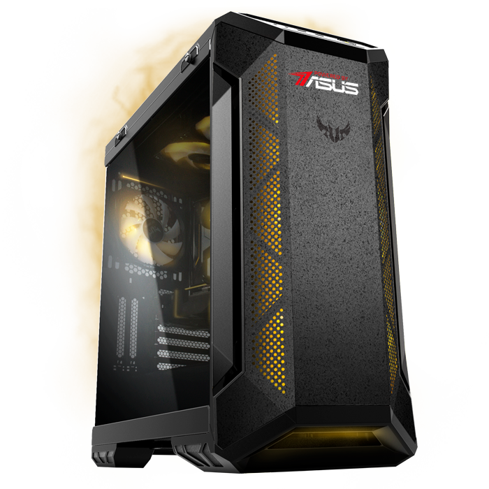 игровой компьютер ASUS на видеокарте GeForce RTX 3080