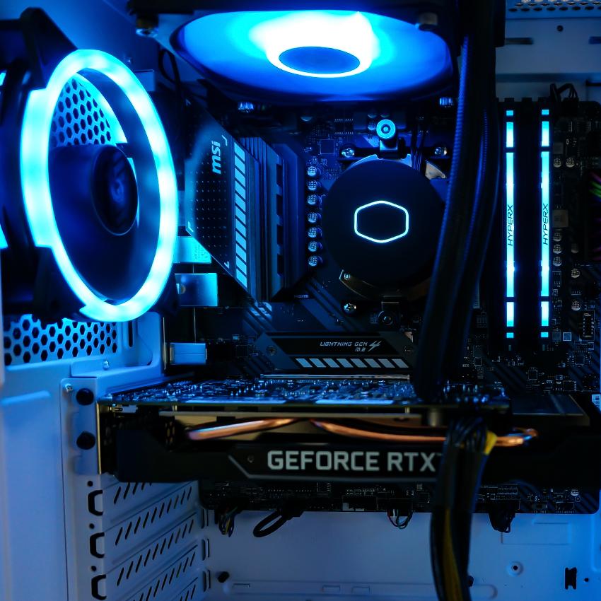 игровой компьютер на видеокарте GeForce GTX 1660 Super