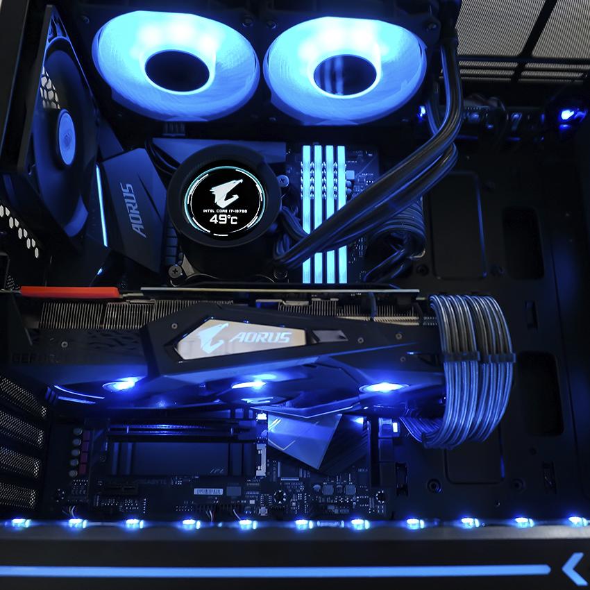 игровой компьютер на комплектующих GIGABYTE и RTX 2070 Super