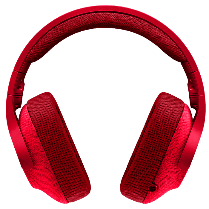 Logitech G433 Fire Red