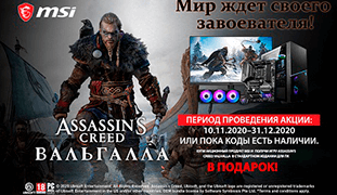 Assassin's Creed Valhalla в подарок